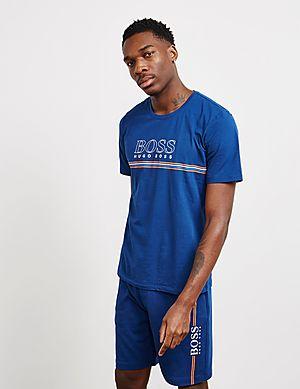 f90b31857 BOSS Outline Logo Short Sleeve T-Shirt ...