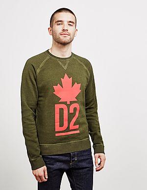 8a0fc47dd3d57 Dsquared2 Maple Sweatshirt Dsquared2 Maple Sweatshirt