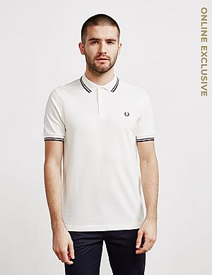 f25cc5a9 Fred Perry Twin Tipped Short Sleeve Polo Shirt ...