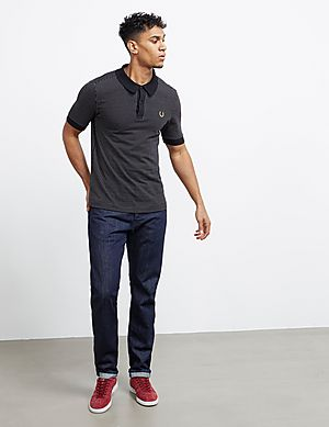 93d05c80 ... Fred Perry x Miles Kane Short Sleeve Jacquard Polo Shirt Quick Buy ...