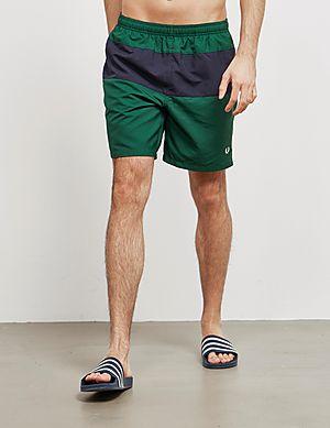 15e1a0f26d Fred Perry Colour Block Swim Shorts ...