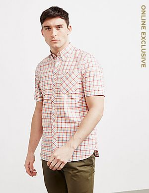 8701ae8c Fred Perry Gingham Short Sleeve Shirt ...