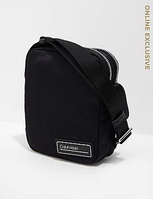 0424deb70a Calvin Klein Logo Small Item Bag ...