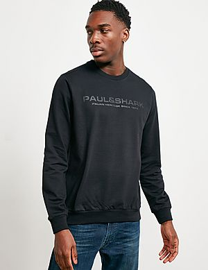 25eb7595 Paul and Shark Carbon Logo Sweatshirt ...