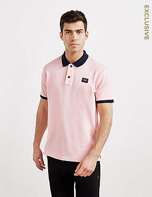 a5df0ba3 Paul and Shark Contrast Short Sleeve Polo Shirt - Exclusive ...