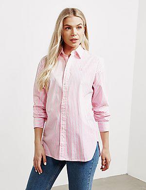 2b2a6deae0 Polo Ralph Lauren Ellen Stripe Long Sleeve Shirt ...
