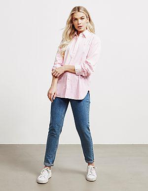 968f13000 ... Polo Ralph Lauren Ellen Stripe Long Sleeve Shirt