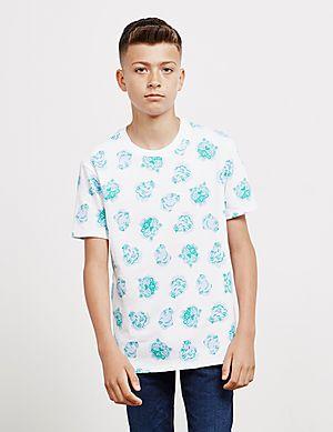 0561a3a3 KENZO All Over Print Short Sleeve T-Shirt ...