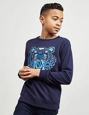 e0e884d5 KENZO Tiger Logo Sweatshirt ...