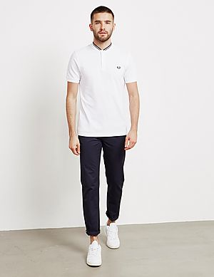 ba457ec4db25 ... Fred Perry Bomber Collar Short Sleeve Polo Shirt
