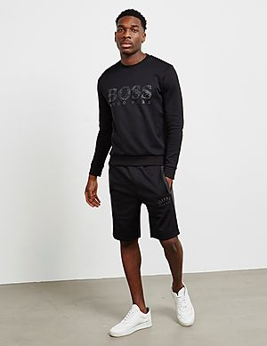 583f81c2 BOSS Salbo Icon Crew Sweatshirt BOSS Salbo Icon Crew Sweatshirt