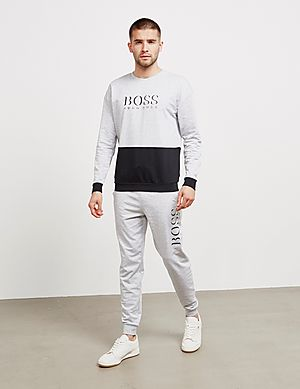 f2fec467 BOSS Authentic Split Sweatshirt BOSS Authentic Split Sweatshirt