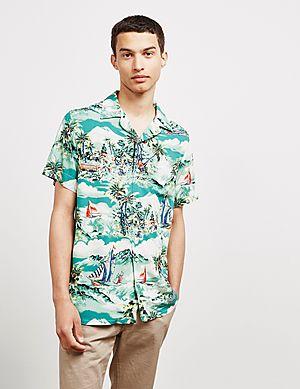 b4655a18c Polo Ralph Lauren Tropical Cuban Short Sleeve Shirt ...