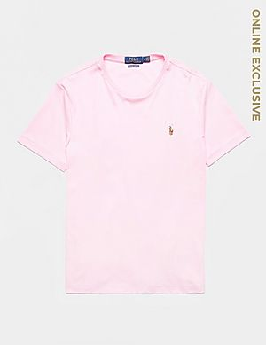 452e4abb Polo Ralph Lauren Pima Short Sleeve T-Shirt ...
