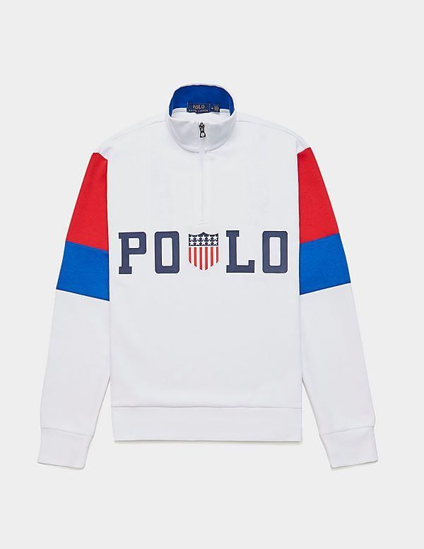 Polo Ralph Lauren Track Half Zip Sweatshirt