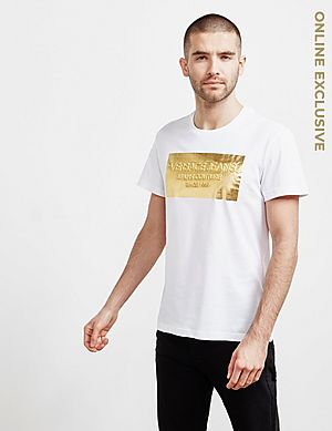 e351300c9 Versace Jeans Foil Box Short Sleeve T-Shirt ...