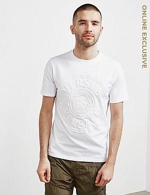 9604d4db Versus Versace Lion Logo Short Sleeve T-Shirt ...