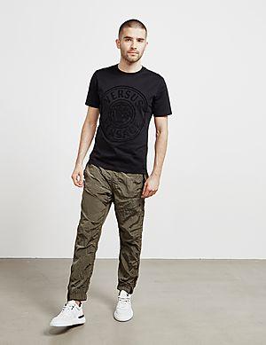 5e5d861a ... Versus Versace Lion Logo Short Sleeve T-Shirt