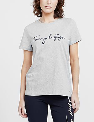 479b946a ... Tommy Hilfiger Heritage Signature Short Sleeve T-Shirt