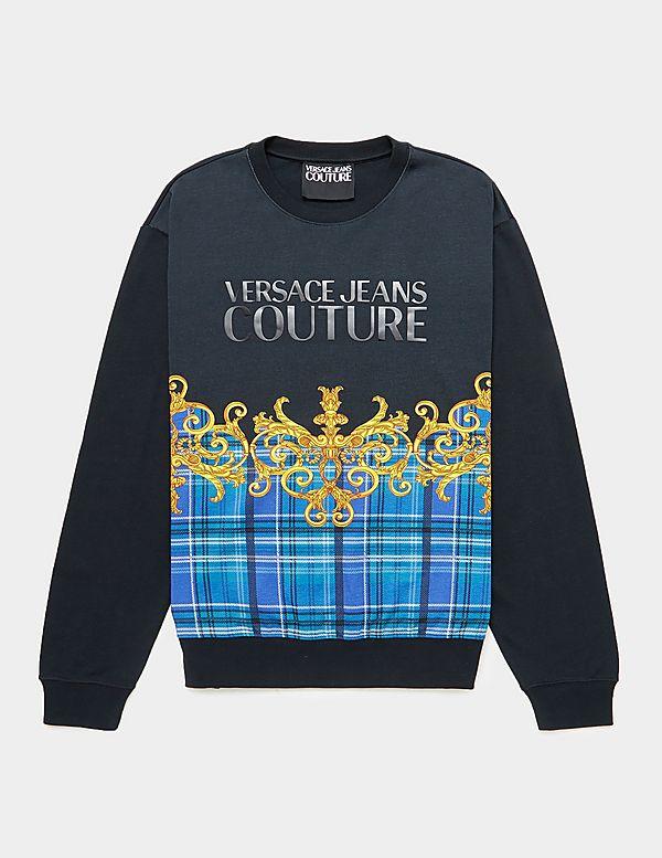 Versace Jeans Couture Logo Check Sweatshirt