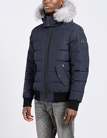 Moose Knuckles Mid Bomber Fur Jacket