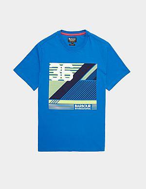 420ccc6cd Barbour International Line Short Sleeve T-Shirt ...