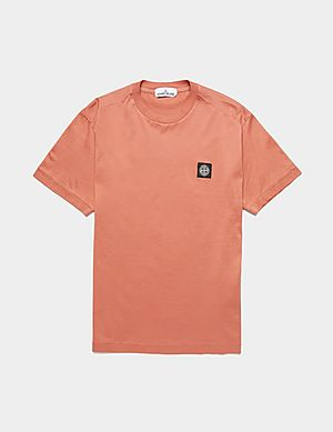 3ca1893a8 Stone Island Patch Short Sleeve T-Shirt ...