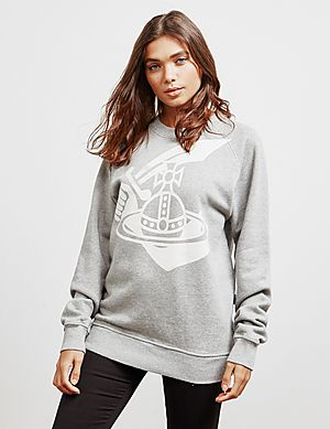 95c8ab2d6e5b28 Vivienne Westwood Anglomania Classic Orb Sweatshirt ...