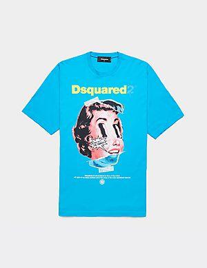 67bb8ab1 Dsquared2 Acid Doll Short Sleeve T-Shirt ...