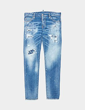 8a564531 Dsquared2 Slim Distressed Jeans ...