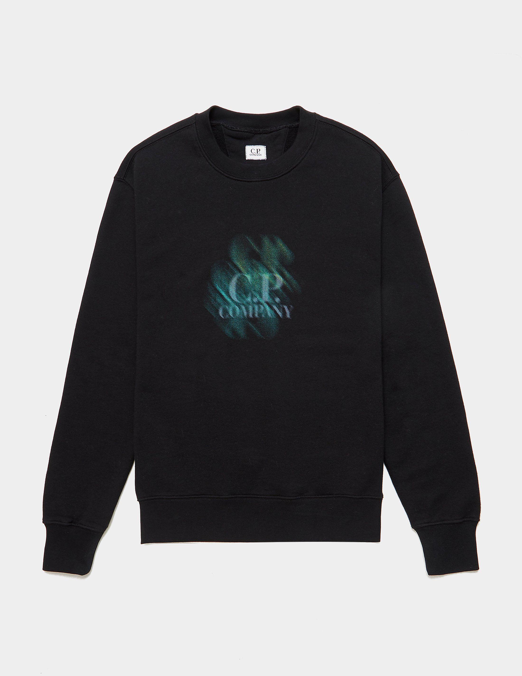 CP Company Blur Logo Sweatshirt | Tessuti