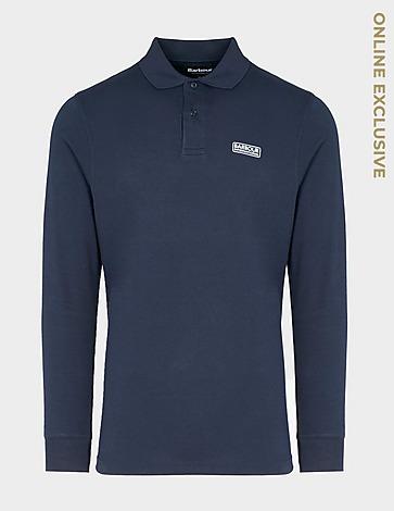 Barbour International Essential Long Sleeve Polo Shirt