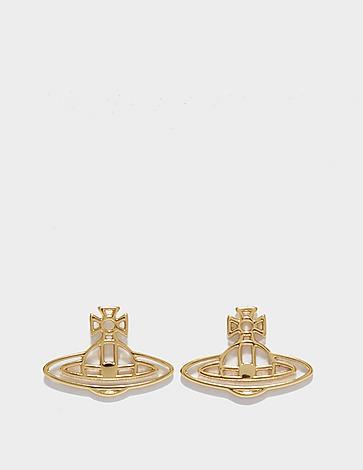 Vivienne Westwood Thin Lines Flat Stud Earrings