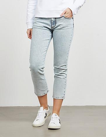 MSGM Logo Denim Jeans