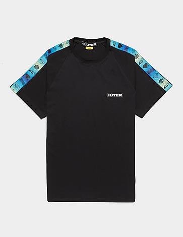 IUTER Gradient Tape Logo Short Sleeve T-Shirt