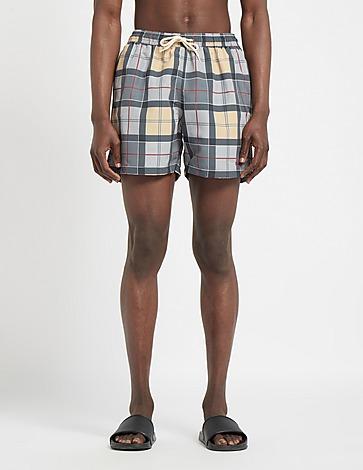 Barbour Tartan Swim Shorts