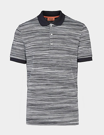 Missoni Stripe Dye Short Sleeve Polo Shirt
