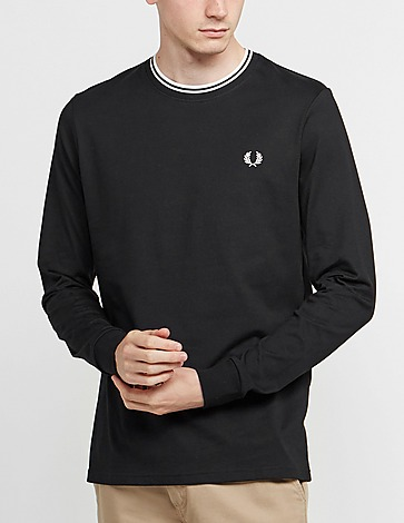 Fred Perry Twin Tipped Long Sleeve T-Shirt