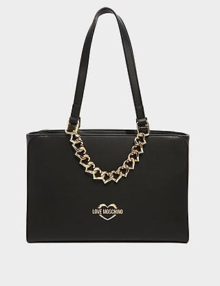 Love Moschino Chain Tote Bag