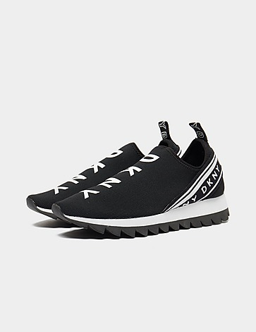 DKNY Knit Slip On Trainers