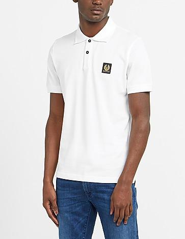 Belstaff Patch Short Sleeve Polo Shirt