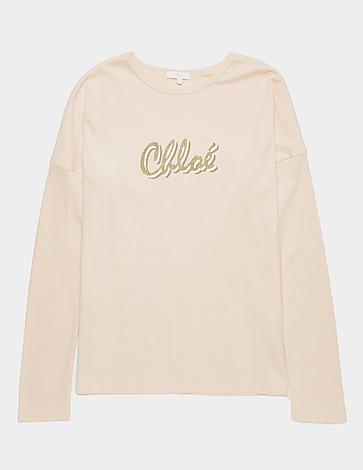 Chloe Signature Long Sleeve T-Shirt