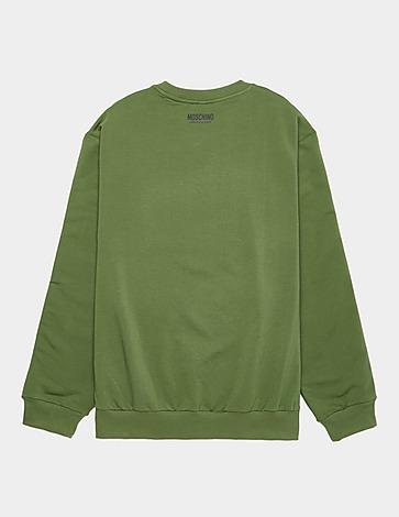 Moschino Arm Tape Crew Neck Sweatshirt