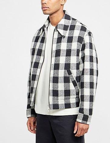 AMI Paris Mel Wool Trucker Shirt