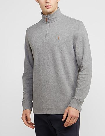 Polo Ralph Lauren French Ribbed Half Zip Sweatshirt