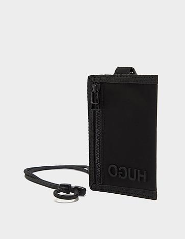 HUGO Record Neck Wallet