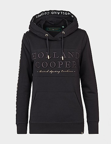 Holland Cooper Deluxe Tape Hoodie