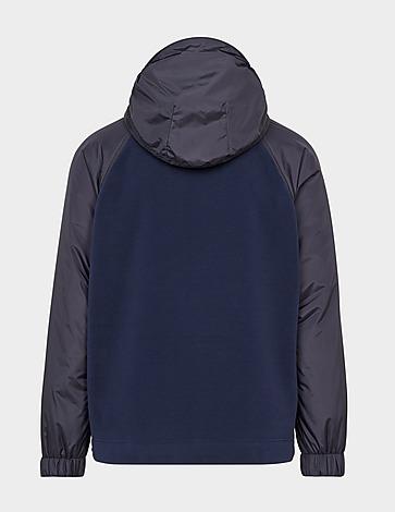 Moncler Grenoble Plortex Fleece Nylon Hooded Jacket