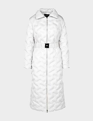 Emporio Armani Long Belt Padded Jacket