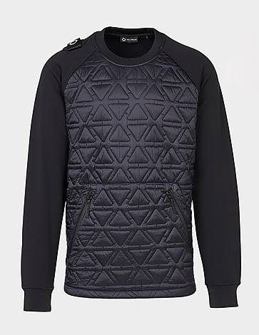 Ma Strum Quilted Panel Sweatshirt